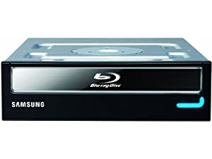 Samsung Blu-Ray Combo Internal 12XReadable and DVD-Writable Drive with Lightscribe SH-B123L/BSBP