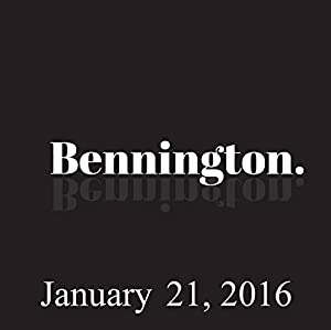 Bennington, Bonnie McFarlane and Rich Vos, January 21, 2016 Radio/TV Program
