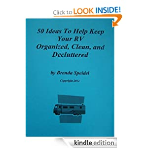 50 Ideas To Help Keep Your RV Organized, Clean, and Decluttered Brenda Speidel