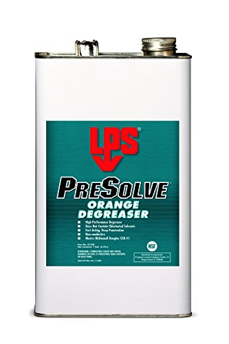 Lps Presolve Orange Degreaser, 1 Gal (Pack Of 4)