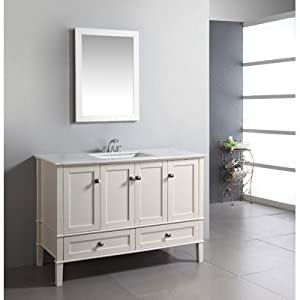 Bathroom Vanity on Chelsea 48  Bathroom Vanity Set   Amazon Com