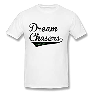 Fashion Dream Chasers T Shirt Mens' US Size M White