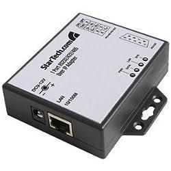 StarTech.com 1 Port RS-232/422/485 Serial over IP Ethernet Device Server (NETRS2321E) -