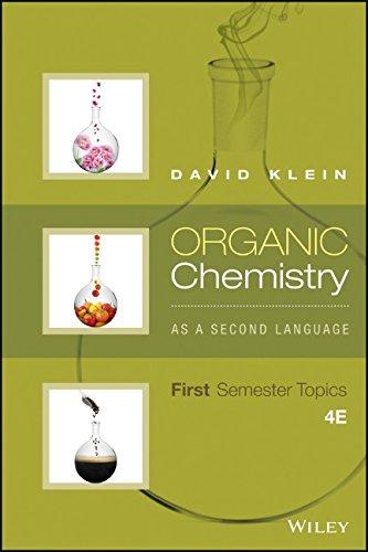 organic chemistry as a second language first semester topics pdf