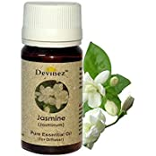 Devinez Jasmine, Sandalwood Essential Oil For Electric Diffusers/ Tealight Diffusers/ Reed Diffusers, 60ml Each