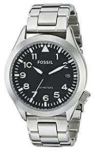 Fossil Men's AM4562 Analog Display Analog Quartz Silver Watch