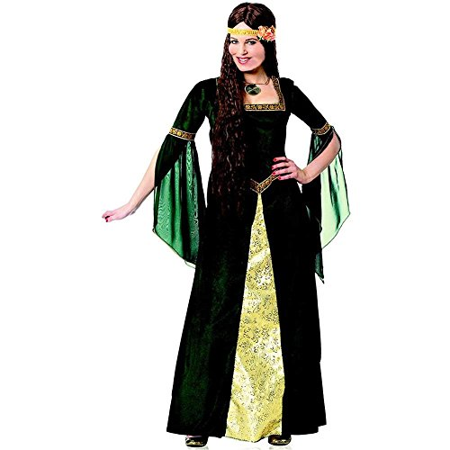 Green Renaissance Lady Plus Size Costume