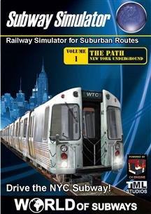 WORLD OF SUBWAYS RAILWAY SIMULATOR (WIN XPVISTA)