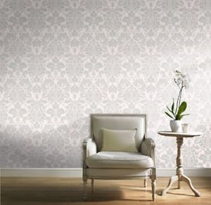 Gran Deco Hyde Park Wallpaper - Cream by New A-Brend