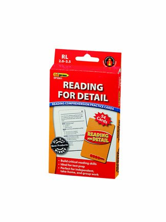 Edupress Reading For Detail - 2.0-3.5