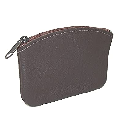 138bc225d8b CTM® Unisex Leather Credit Card Pouch and Coin Holder