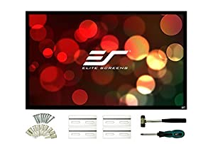 Elite Screens ezFrame2 Series, Fixed Frame Home Theatre Projection Screen, 135-inch Diagonal 16:9, Model: R135WH2