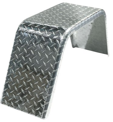 INFINITE INNOVATIONS 211065 Replacement Single Axle Aluminum Tread Plate Trailer Fender (Fenders Trailer compare prices)