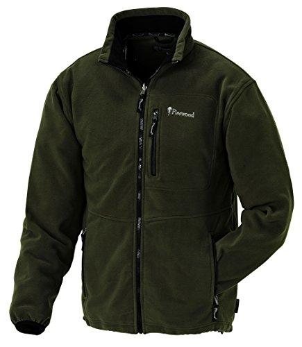 Pinewood Unisex Fleecejacke Nordkap, grün, M
