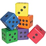 41PbgTnjYQL. SL160  US Games Color My Class Foam Dice Set