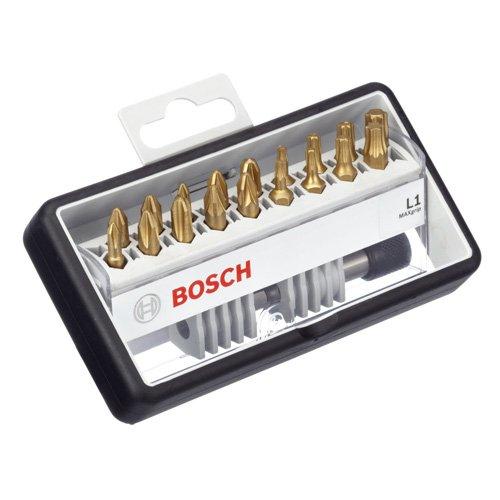 Zubehör 2607002581 18+1tlg. Robust Line Schrauberbit-Set L Max Grip 25 mm, 18+1tlg.