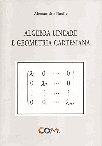 Algebra lineare e geometria cartesiana