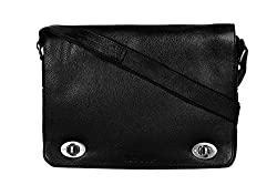 SCHARF Horizontal Crossbody Premium Leather Bag