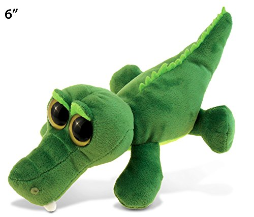 Big Eye Alligator Plush, 6""