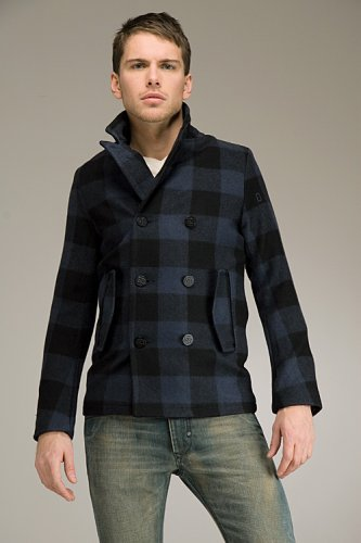 Buy G-Star Morter Plaid Coat