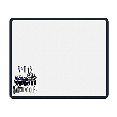 TANGDANMEI NHS Marching Corp MouseMats Non-slippery Rubber Base