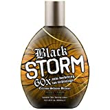 Millenium Tanning Black Storm Premium Tanning Lotion, Extreme Silicone Bronzer, 60x, 13.5-Ounce