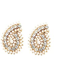 Young & Forever ♥♥Valentine Special♥♥ Glitter Pearl Earrings For Chic Women