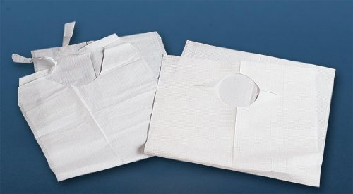 Wholesale Disposable Plastic Bibs With Crumb Catcher(500/Cs)