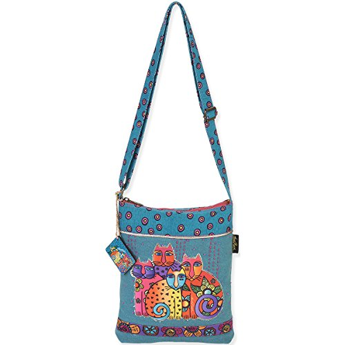 laurel-burch-long-satchel-bag-105-by-125-inch-feline-clan