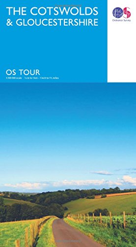 The Cotswolds & Gloucestershire (OS Tour Map)
