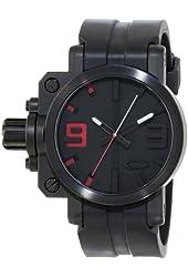 """Oakley Men's 10-062 """"Gearbox"""" Stainless Steel Watch"""