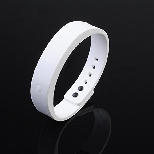 1 Of 4 Color - Waterproof Smart Bracelet Bluetooth 4.0 Smart Wristband For Iphone - Color:White
