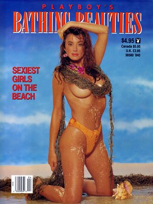 1990 Playboy Bathing Beauties Newsstand Special magazine