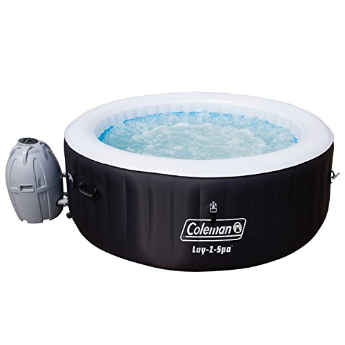 Coleman Miami 4-Person Inflatable Spa Hot Tub, Black (Coleman Easy Spa compare prices)