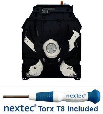 Neuf - Sony PS3 Lecteur Bluray - 160, 320 GB Slim Models - (KES-450DAA/ KEM-450DAA Bloc Optique) + Nextec® Tournevis de Sécurité T8