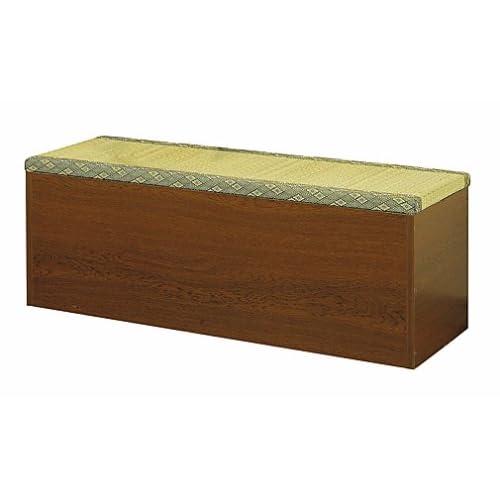 クロシオ 収納たたみベンチ90  畳ベンチ 畳収納ボックス 高床式
