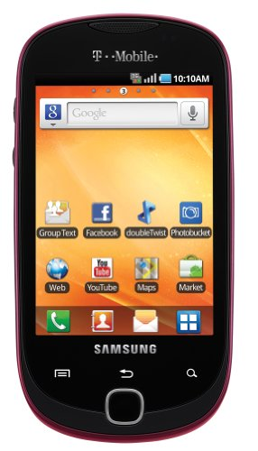 Samsung Gravity Smart Android Phone, Berry Red 