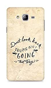 AMEZ dont look back you are not going that way Back Cover For Samsung Galaxy ON7