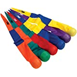 """Sportime 1478712 Catch Tail Ball Set, Soft Foam, 36"""", 4"""" Diameter, Assorted Colors (Pack of 6)"""