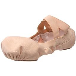 Bloch Dance Pro-Elastic Ballet Flat (Little Kid),Pink,13 D US Little Kid