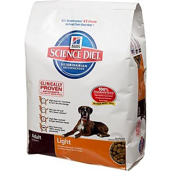 Hill's Science Diet Adult Light Dry Dog Food - 17.5-Pound Bag