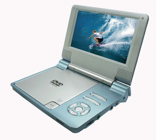 Sylvania SDVD7014-MBLUE Portable 7-Inch Widescreen DVD Player