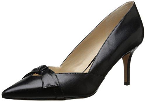 Nine West Women's Kelda Leather Dress Pump, Black, 9 M US (Nine West Vintage Shoes compare prices)