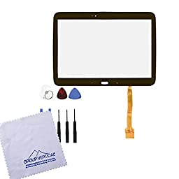 Group Vertical Black Touch Screen Display Digitizer Front Glass Repair Replacement for Samsung Galaxy Tab 3 10.1\