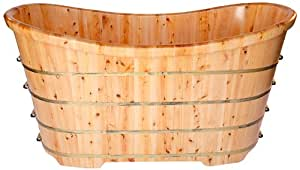 ALFI brand AB1105 63-Inch Free Standing Cedar