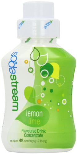 Sodastream Flavouring Syrup Lemon and Lime 500 ml Bottle (Pack of 6)