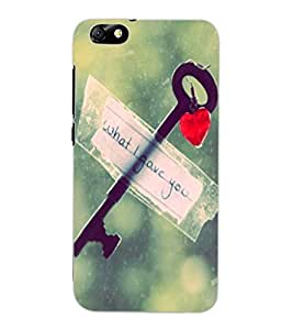 ColourCraft Love Key Design Back Case Cover for HUAWEI HONOR 4X