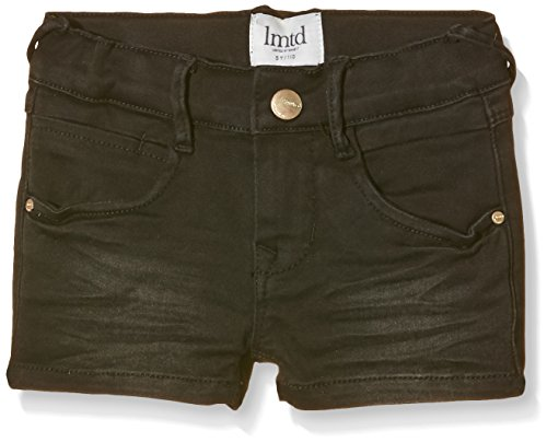 NAME IT NITSIRIEMA K SLIM DNM SHORTS LMTD216-Shorts Bambina    Schwarz (Black Denim Black Denim) 128