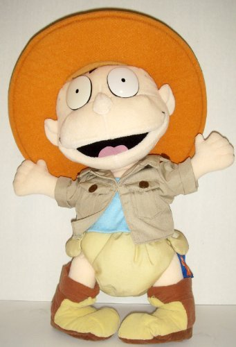 Authentic 1998 Nickelodeon Rugrats Tommy Pickles Safari Explorer Plush Stuffed Toy Doll 16