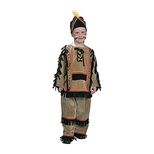 Baoer Deluxe Indian Boy Costume Set Toddler T4